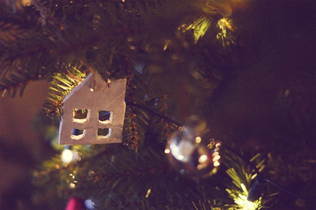 diy kerst ornament